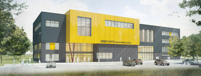 Abbeygate Sixth Form College on schedule to open September 2019