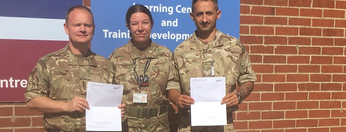 GCSE success for RAF Honington learners after partnering with College