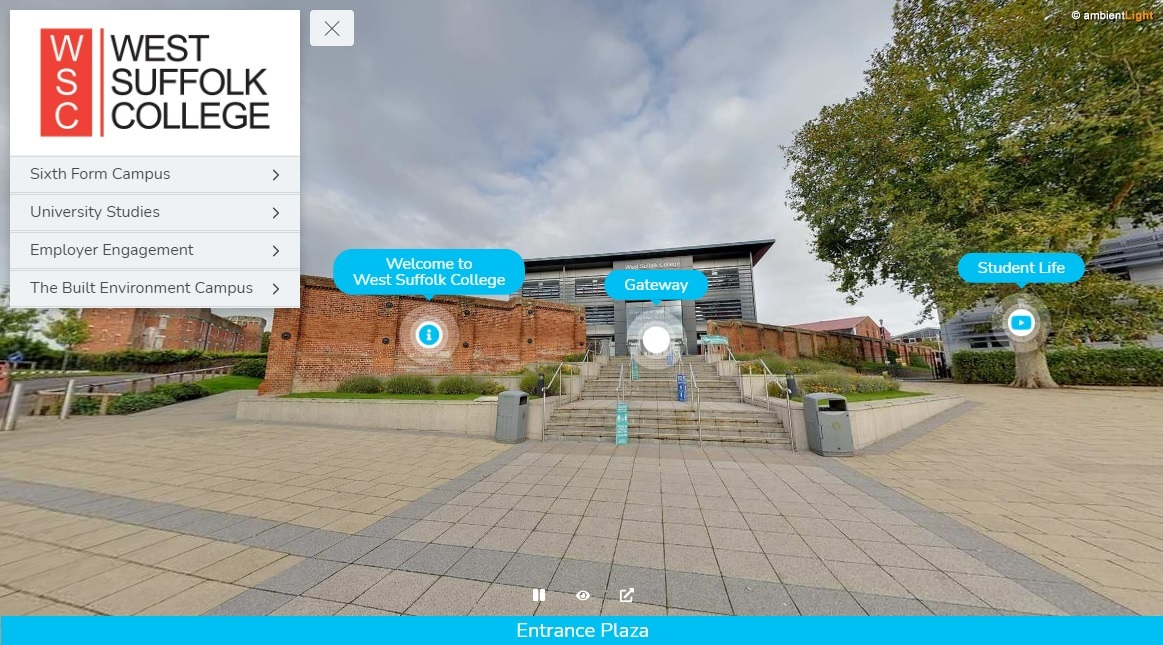 360 Tour of West Suffolk College