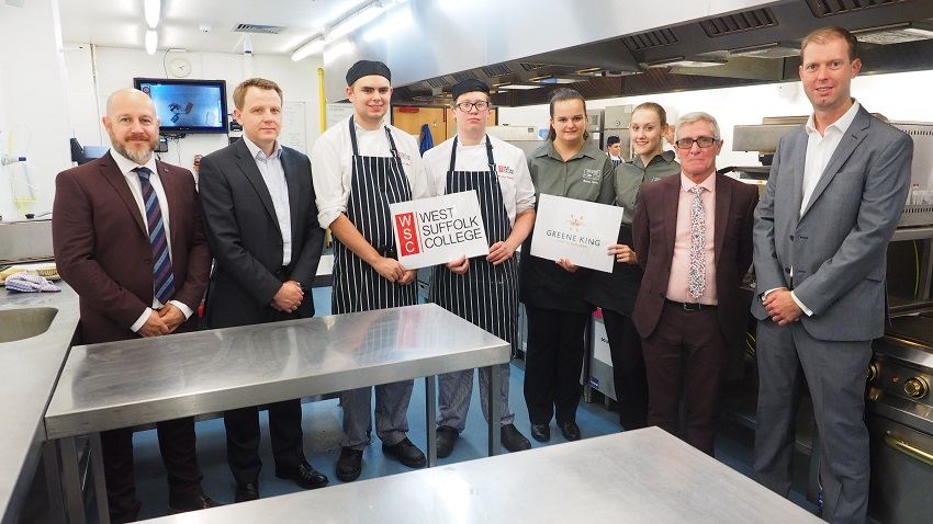 Greene King And West Suffolk College Cook Up A Storm