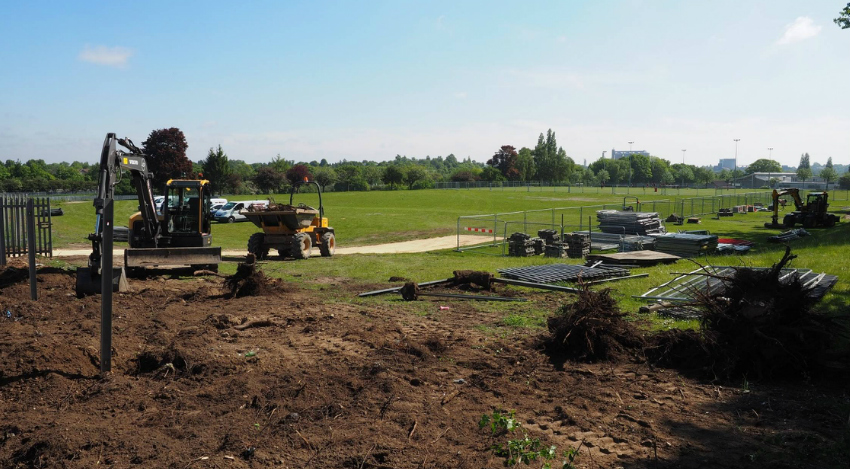 Abbeygate Sixth form building work has begun