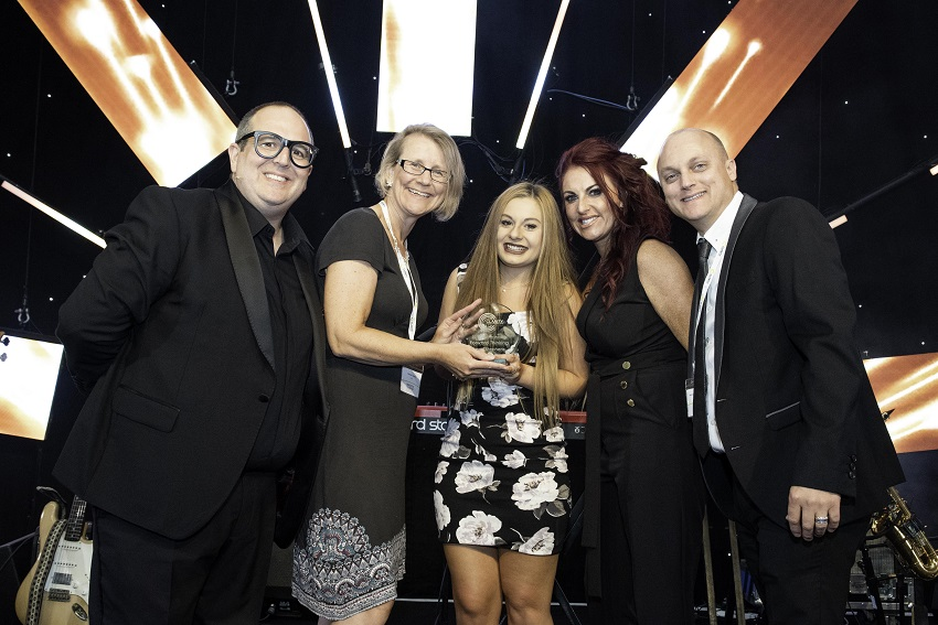 Kerrie Stephens WSC Apprentice of the Year. Photo credit Clarity Copy