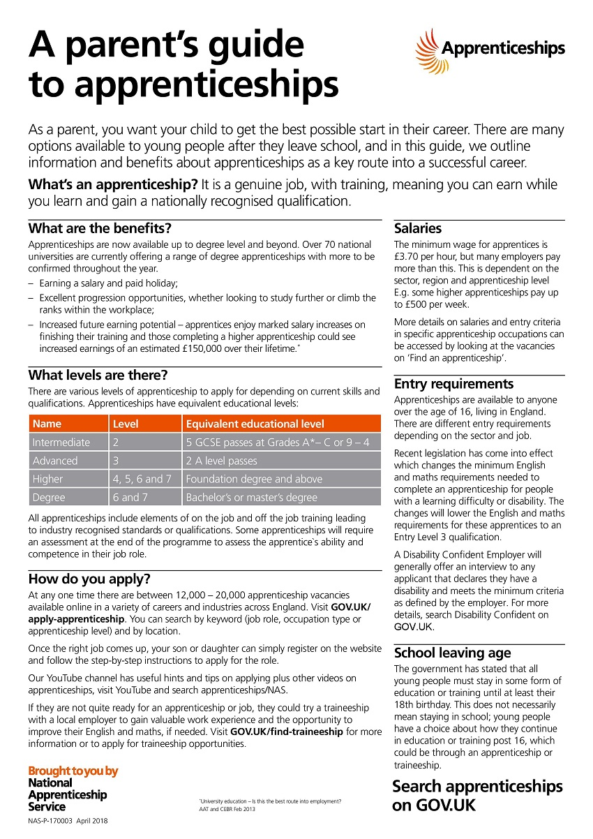 Parent Guide Apprenticeships page 001