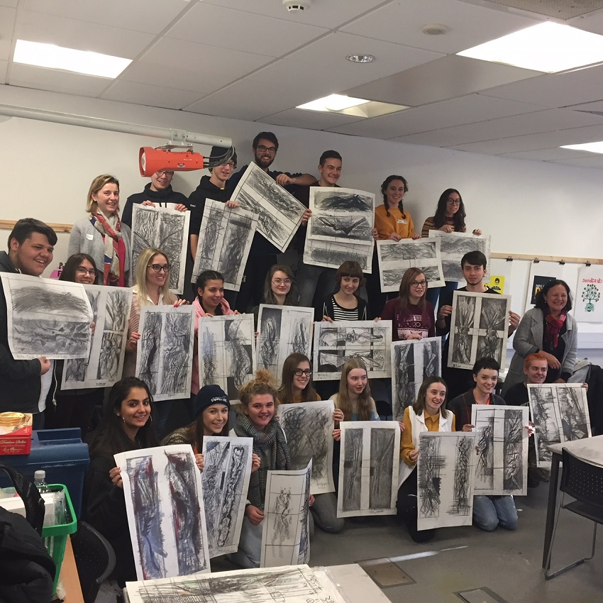 West Suffolk College S School Of Art Design Hosts Inspiring