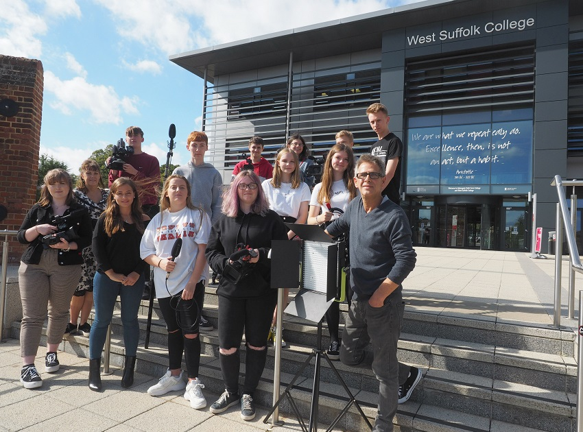 West Suffolk College Launch Brand New Broadcast And Journalism Course