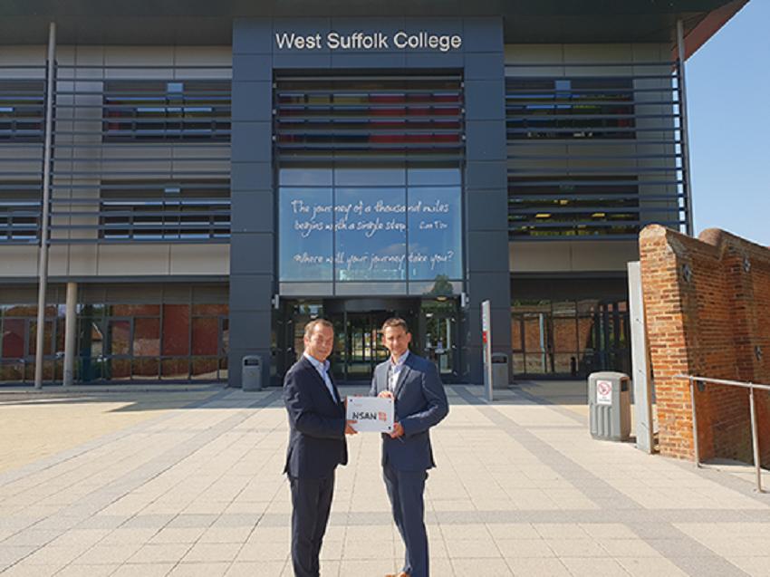 West Suffolk College Gains Nsan Flagship Status