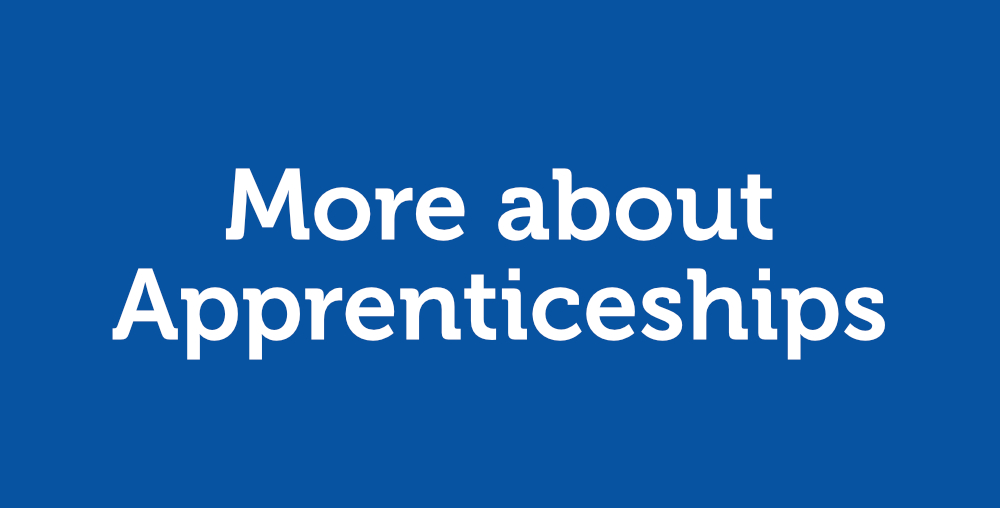 More about Apprenticeships