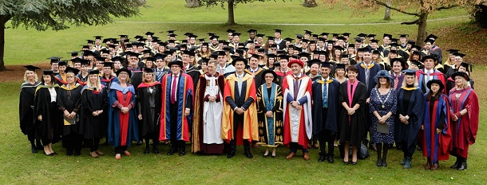 To be proud - our amazing degree students are celebrated at annual graduation ceremony