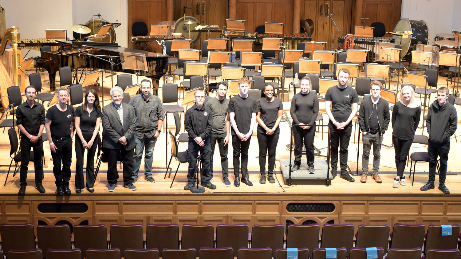 Music degree students work with Royal Philharmonic Orchestra at Cadogan Hall