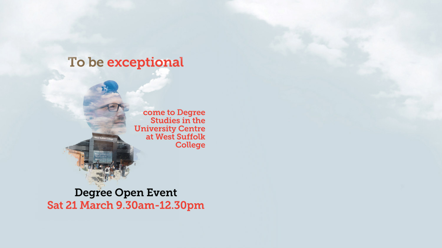 Degree Studies Open Day - Saturday 21 March